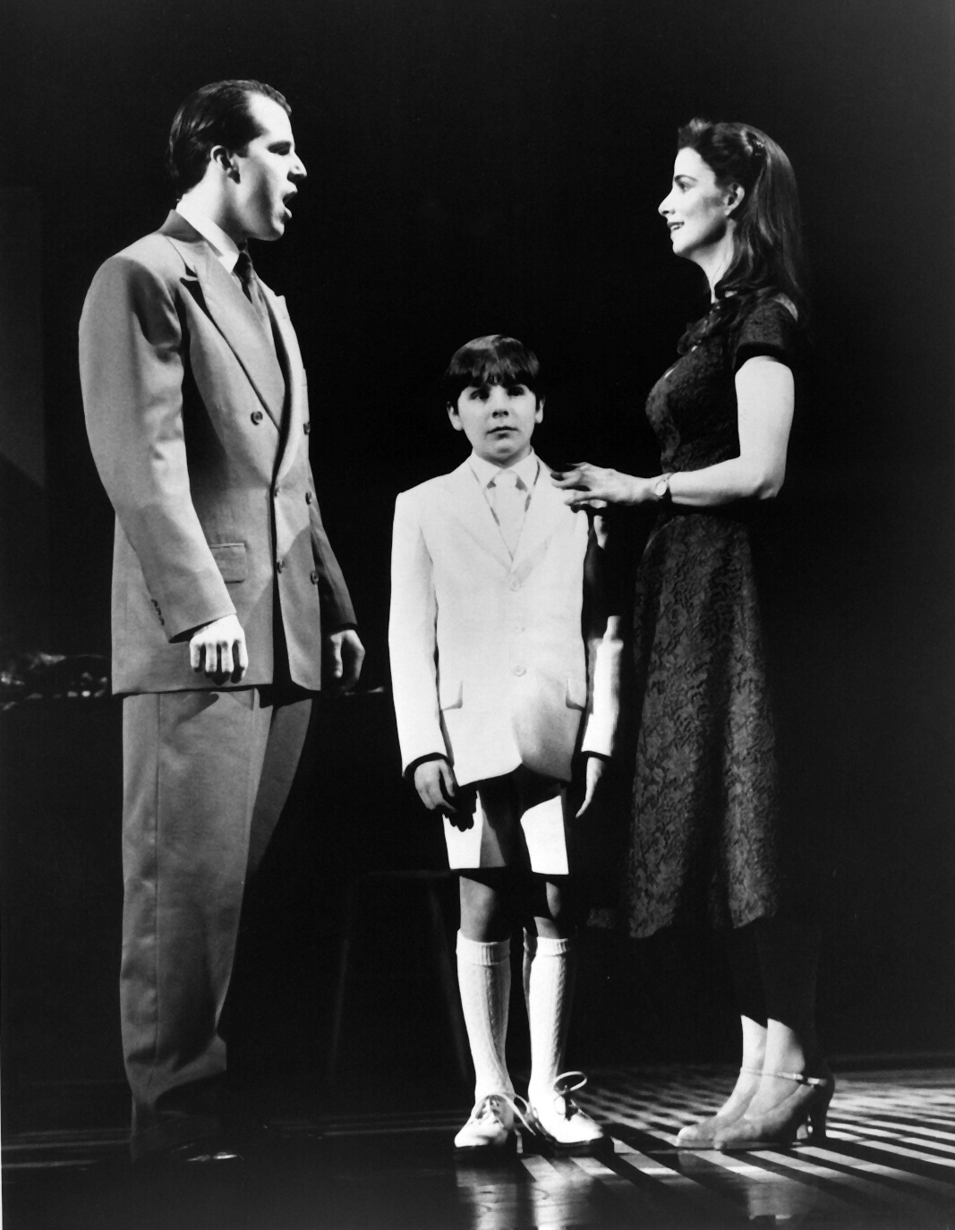 From left to right, Johnathan Dokuchwitz, Buddy Smith, and Marcia Mitzman