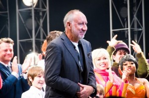 The Who's Pete Townshend at Curtain Call for Tommy