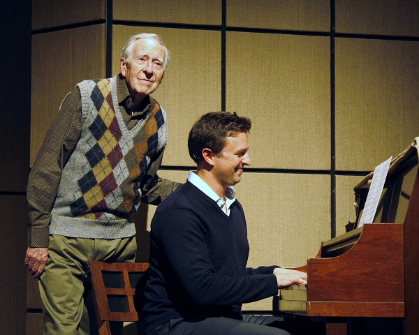 "Ian Downie and Jeffrey Wetsch in ""Tuesday with Morrie"""