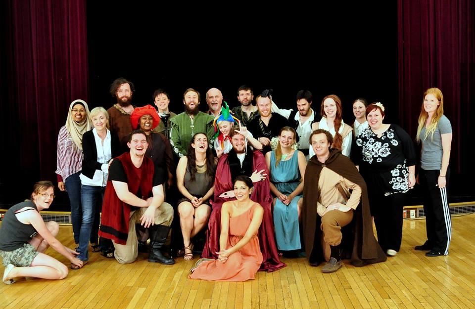 Cast and crew of King Lear