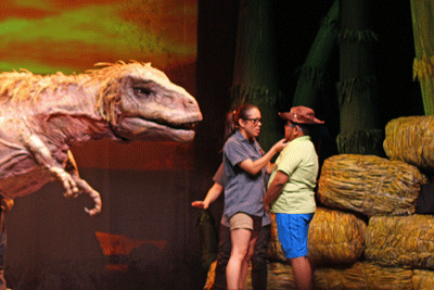 Erth's dinosuar zoo, Toronto, Mirvish , Tyrannosaurus rex. t rex