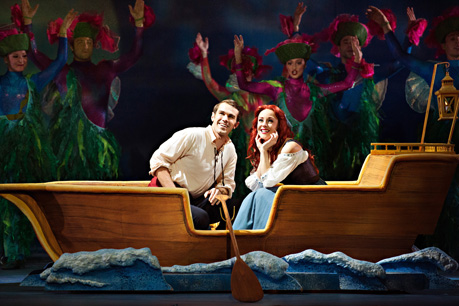 David Cotton, Jayme Armstrong, Disneys The Little Mermaid, Dunfield Theatre Cambridge