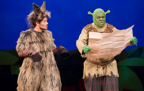 Shrek The Musical, The grand theatre london, steve ross, troy adams