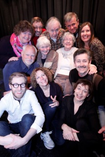 . Marys Community Players Improv Workshop group; Front row, from left, are: Joe Kerr, Romayne Smith-Fullerton and instructor Liane Gregory-Sterritt. Middle row: Don Van Galen, Joan Swederski, Pat Rolston and Brian Moore. Back row: Kate Gregg, David Rothbauer, Rob Anderson, Andrew Middleton and Fern Pridham.
