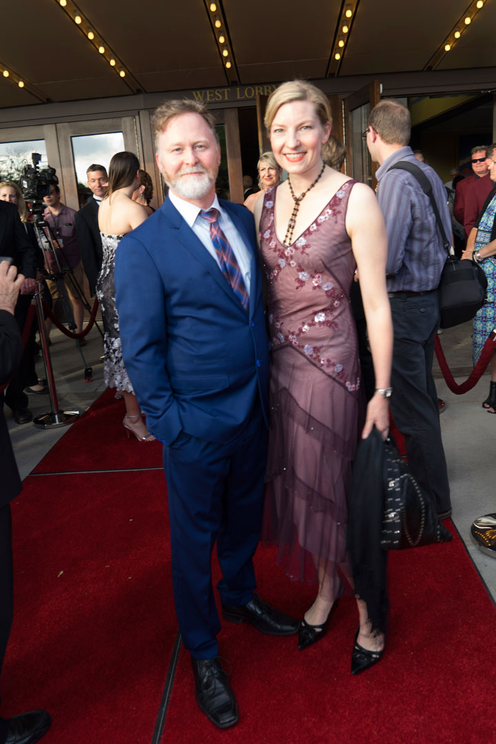 Stratford Festival, 2015, opening night, Maev Beaty and Alan Dilworth