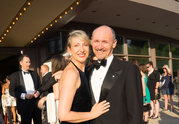 Stratford Festival, 2015, opening night, Donna Feore and Colm Feore