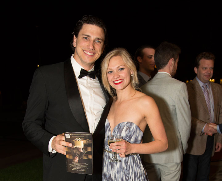 Stratford Festival, 2015, opening night, Jacqueline Burtney and Jonathan Winsby