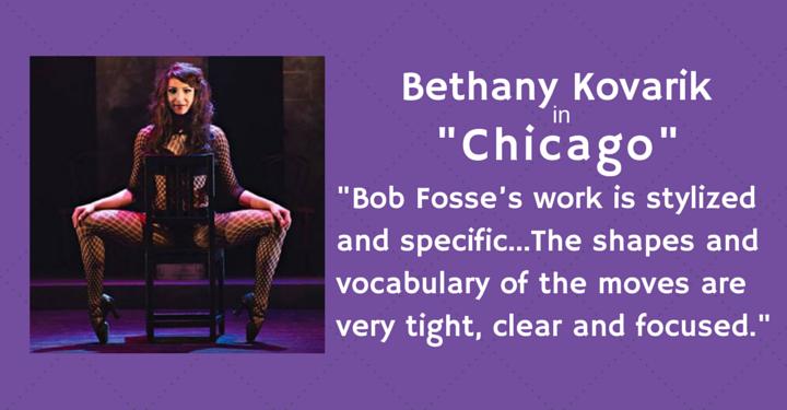Bethany Kovarik, bob fosse, dance, Chicago