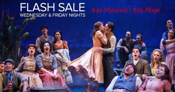 Stratford festival, flash sale, promo code,