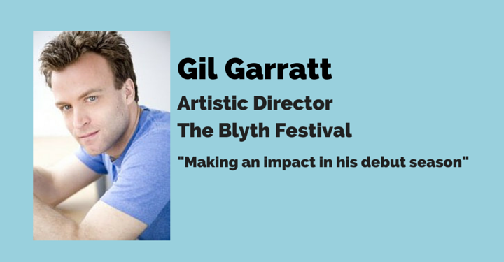 Gil Garratt, blyth festival, mary's wedding., review