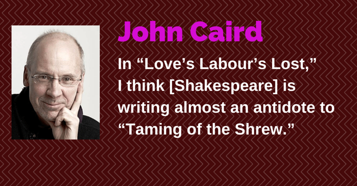 John Caird, stratford festival, love's labour's lost, john caird director