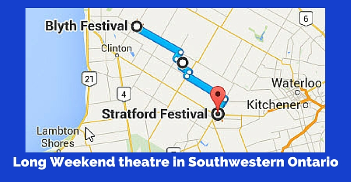Long Weekend theatre in Southwestern Ontario
