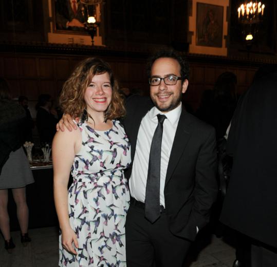 Amy Keating, Mitchell Cushman, siminovitch 2015