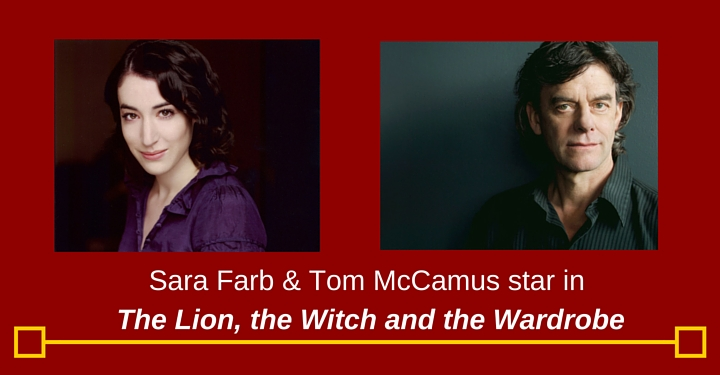 Tom McCamus, Sara Farb, Stratford, Narnia, the lion the witch and the wardrobe