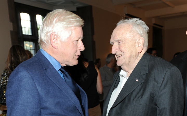 Bob Rae, Lou Siminovitch, siminovitch prize 2015