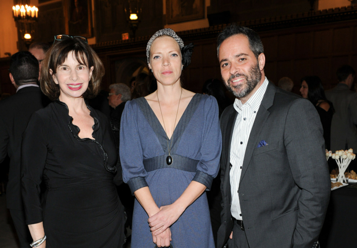 Margo Siminovitch, Liisa Repo-Martell, Chris Abraham, siminovitch 2015