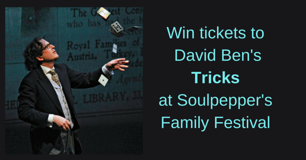 David ben contest, tricks, soulpepper
