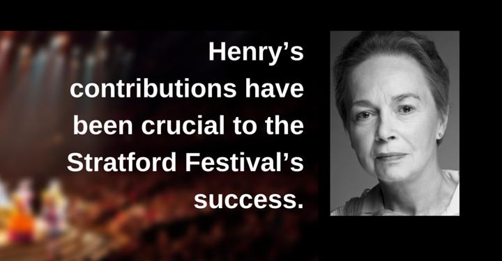 martha henry, stratford festival, Birmingham Conservatory