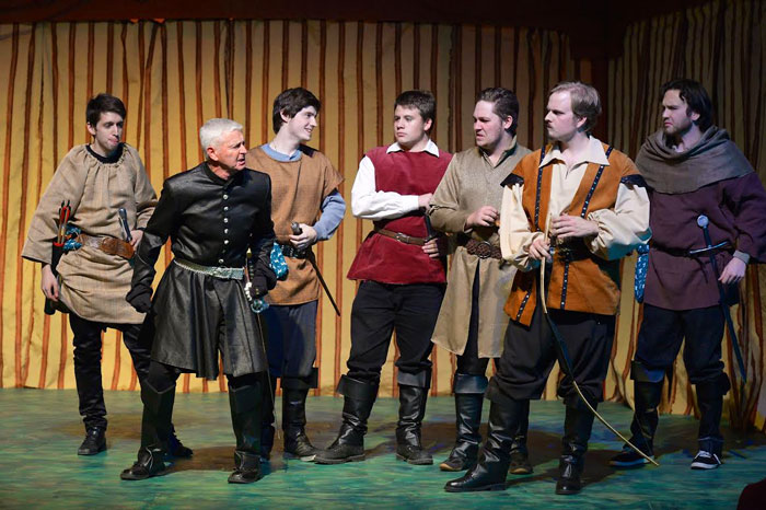 the Trials of Robin Hood, London Community Players, Palace Theatre, London on