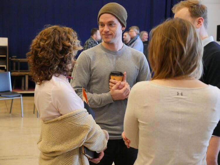Gareth Potter (Ralph), Shakespeare in Love, stratford Festival, luke humphrey, shannon taylor