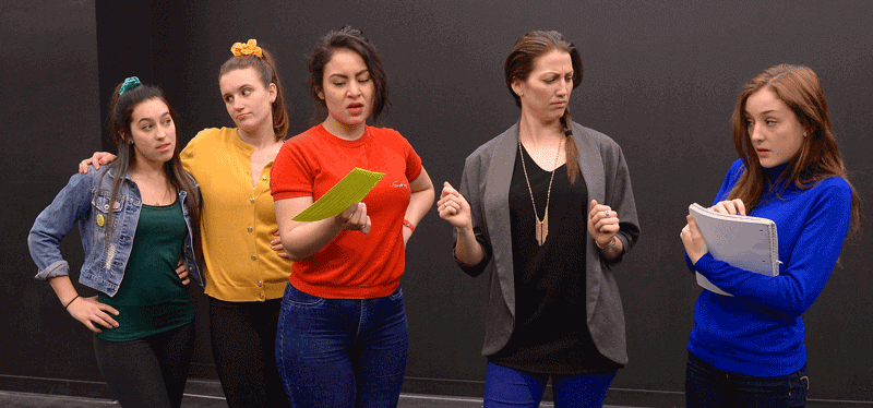 Alicia D'Ariano, Jesslyn Hodgson, Elena Reyes, Laura Hounsell, and Laura Martineau, Heathers the musical