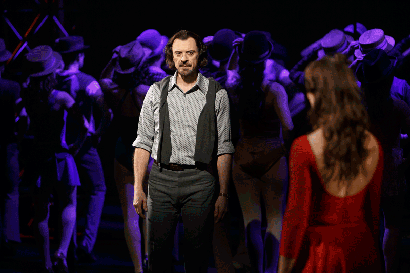 A Chorus Line, Stratford Festival, photos, video, review , Juan Chioran, Dayna Tietzen