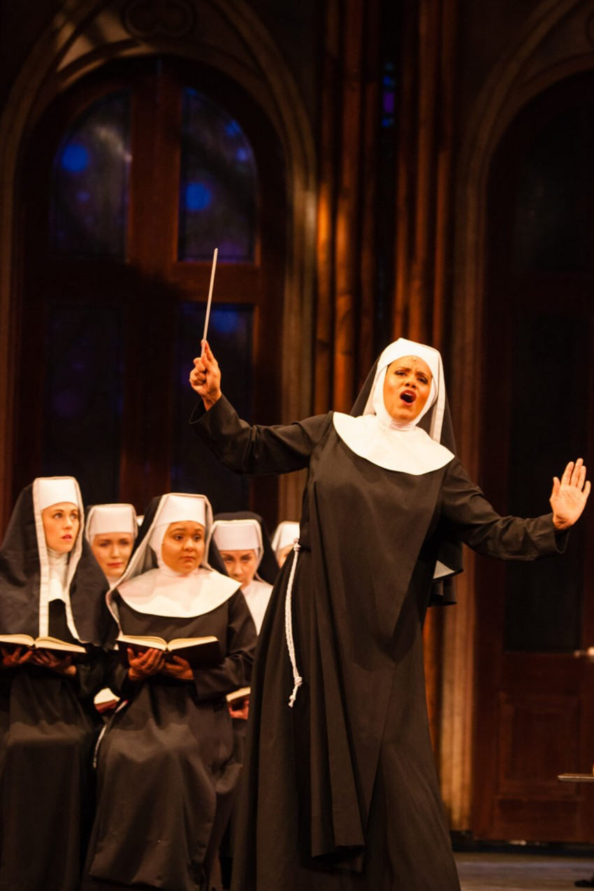 Aurianna Angelique, Sister Act, Huron country playhouse 2016 playbill