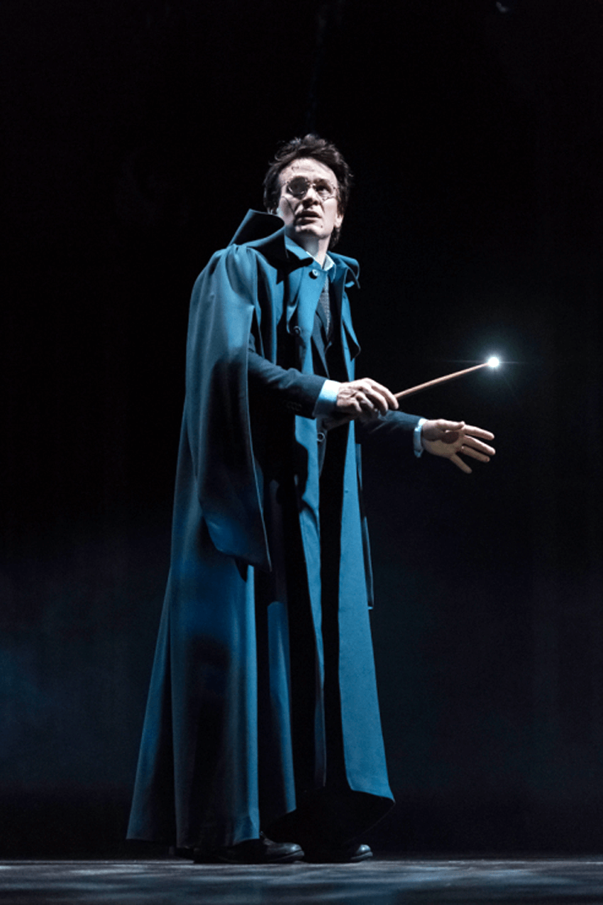 Jamie Parker as Harry Potter in London