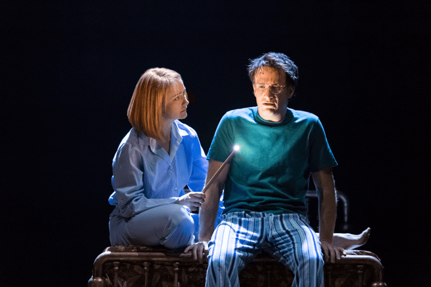"""Harry Potter and the Cursed Child"", London's west end reviews, Poppy Miller as Ginny Potter and Jamie Parker as Harry Potter"