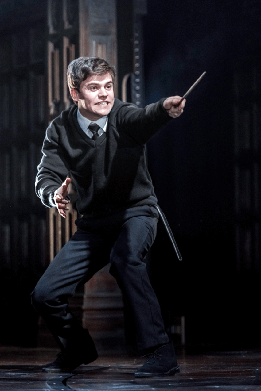 "Sam Clemmett as Albus Potter in ""Harry Potter and the Cursed Child"", London's west end reviews"