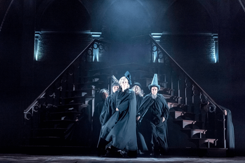"The cast of ""Harry Potter and the Cursed Child, review, london"