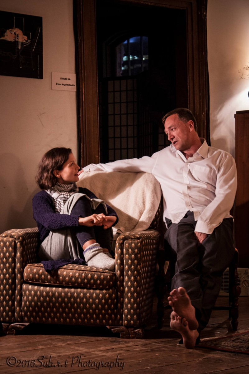 Francesca Ranalli and Jeff Miller in Skylight