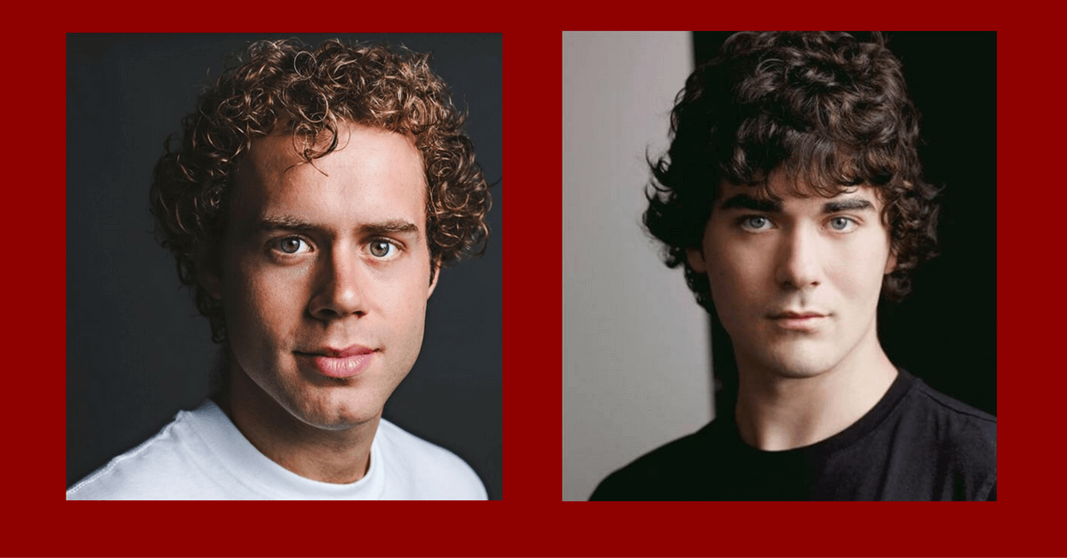 Nathan Carroll & Alex Furber in Drayton's Marathon of Hope: The Musical