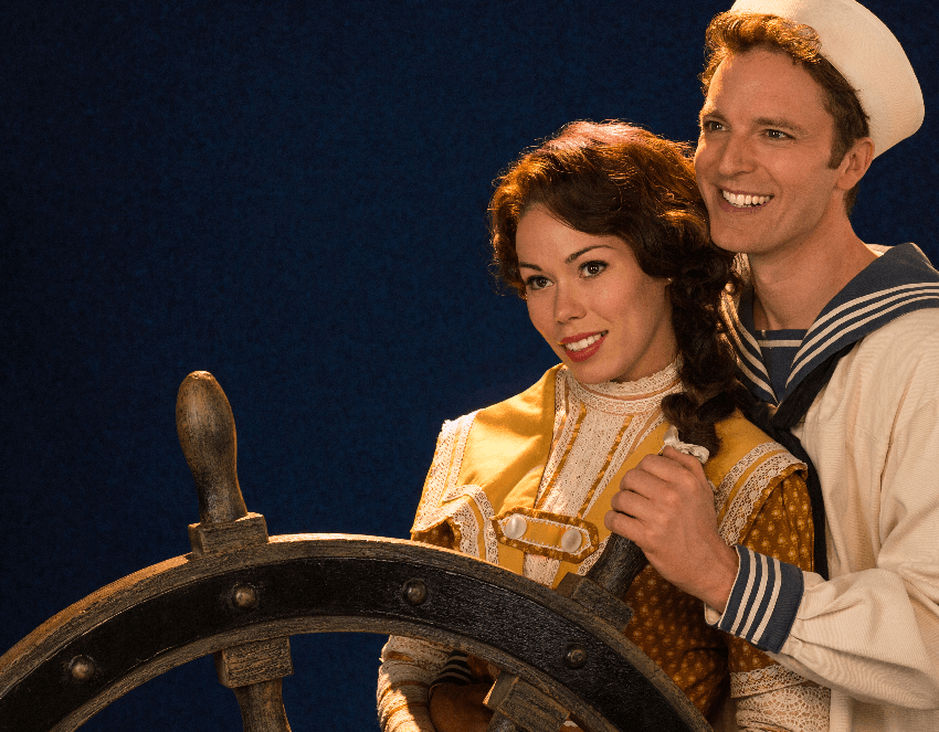 hms pinafore, jennifer rider shaw and mark uhre, stratford festival 2017