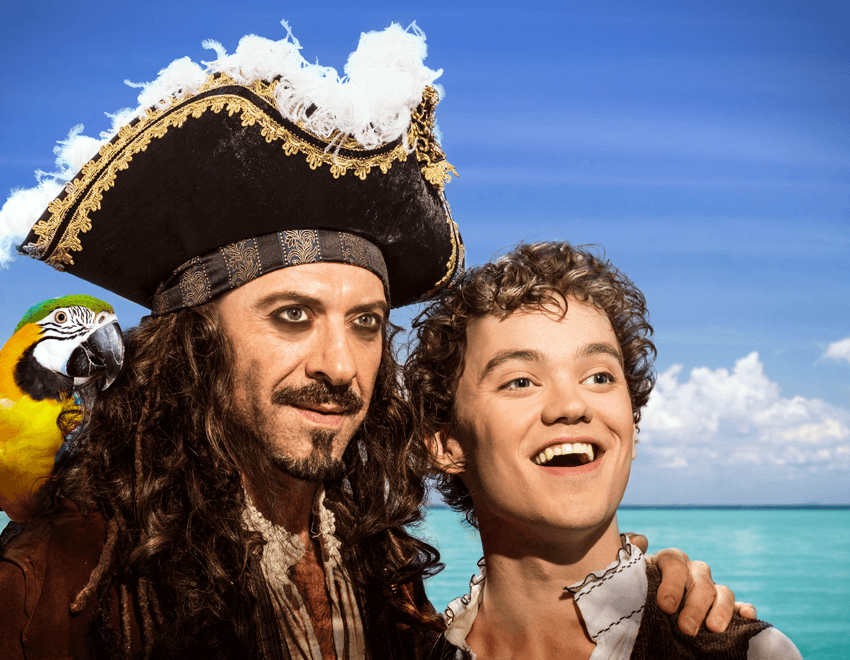 treasure island with juan chioran and thomas-mitchell-barnet, stratford festival 2017