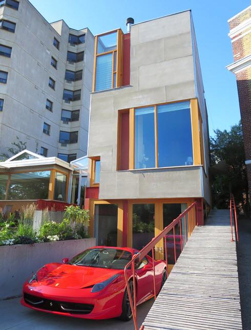 Morris House Stratfird, airbnb