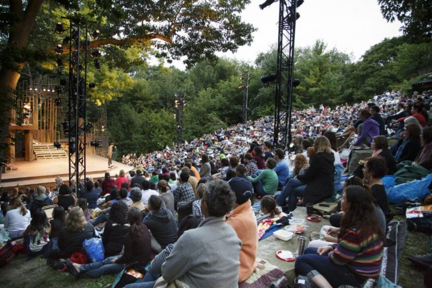 Shakespeare in High Park in Toronto, Ontario