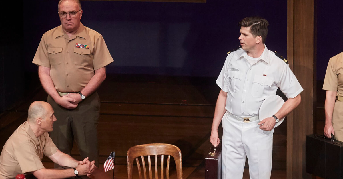 review of a few good men essay Rob reiner's a few good men is one of those movies that tells you what it's  going to do, does it, and then tells you what it did.