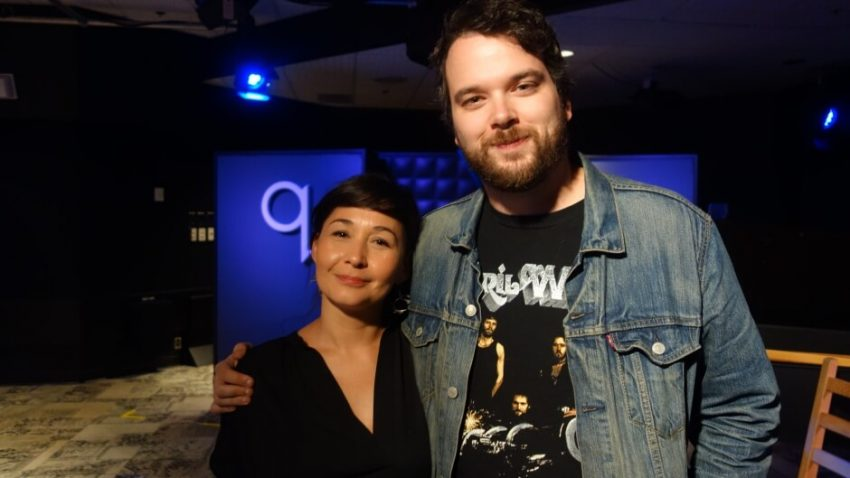 Director Reneltta Arluk on CBC Q,with Tom Power, The breathing Hole, Stratford Festival