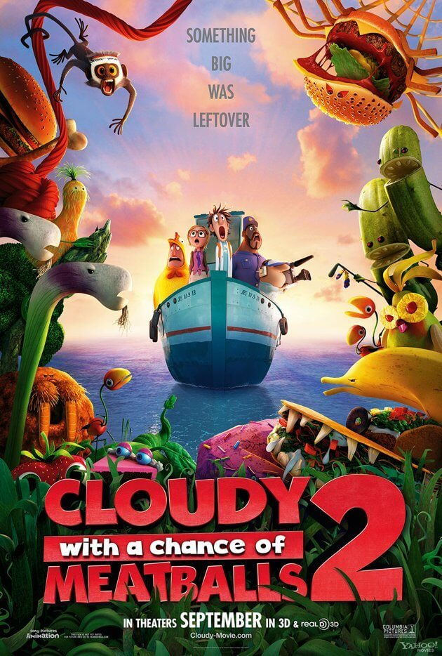 6 Films with a Southwestern Ontario Connection. The Cloudy With A Chance of Meatballs 2 Poster