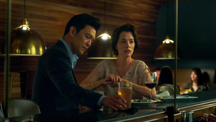"3 Must-See Films at Hyland Cinema. John Cho and Parker Posey in ""Columbus."""