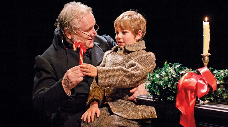"A Christmas Carol: Where to experience Dickens? Christmas Classic. Joseph Ziegler and Cody Black in Soulpepper Theatre's ""A Christmas Carol."""