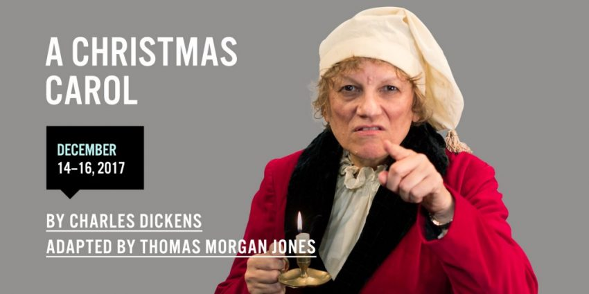 "A Christmas Carol: Where to experience Dickens? Christmas Classic. Nora McLellan in Theatre New Brunswick's ""A Christmas Carol."""