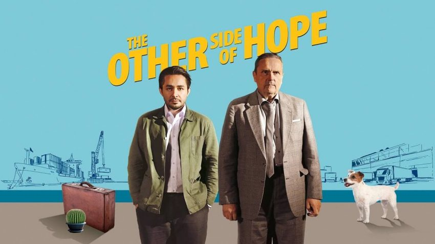 "4 Reasons You Need to get to the Hyland this Weekend. Sherwan Haji and Sakari Kuosmanen in ""The Other Side of Hope."""