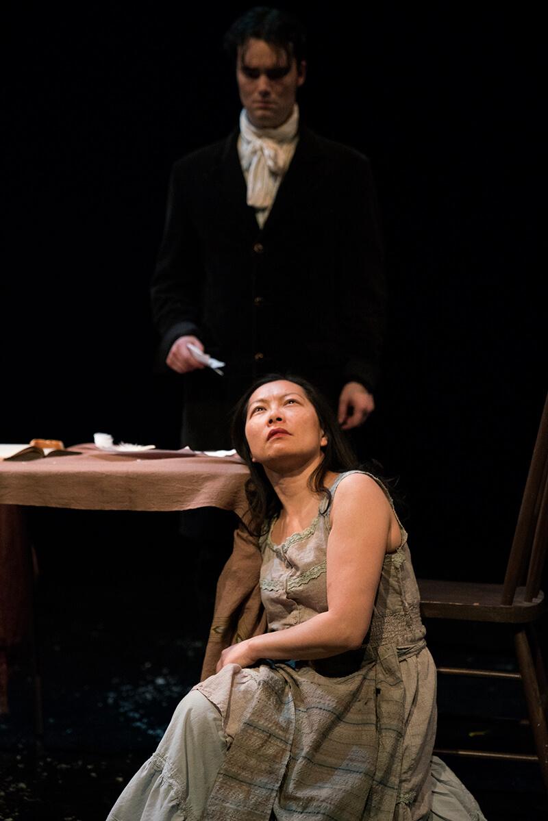 Les Misérables - Benjamin Muir (Marius), Diana Tso (Eponine) - photo by Elisa Gilmour (1)