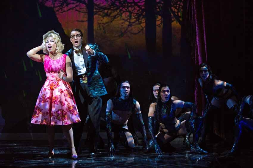 Jennifer Rider-Shaw, Sayer Roberts, The Rocky Horror Show at the Stratford Festival