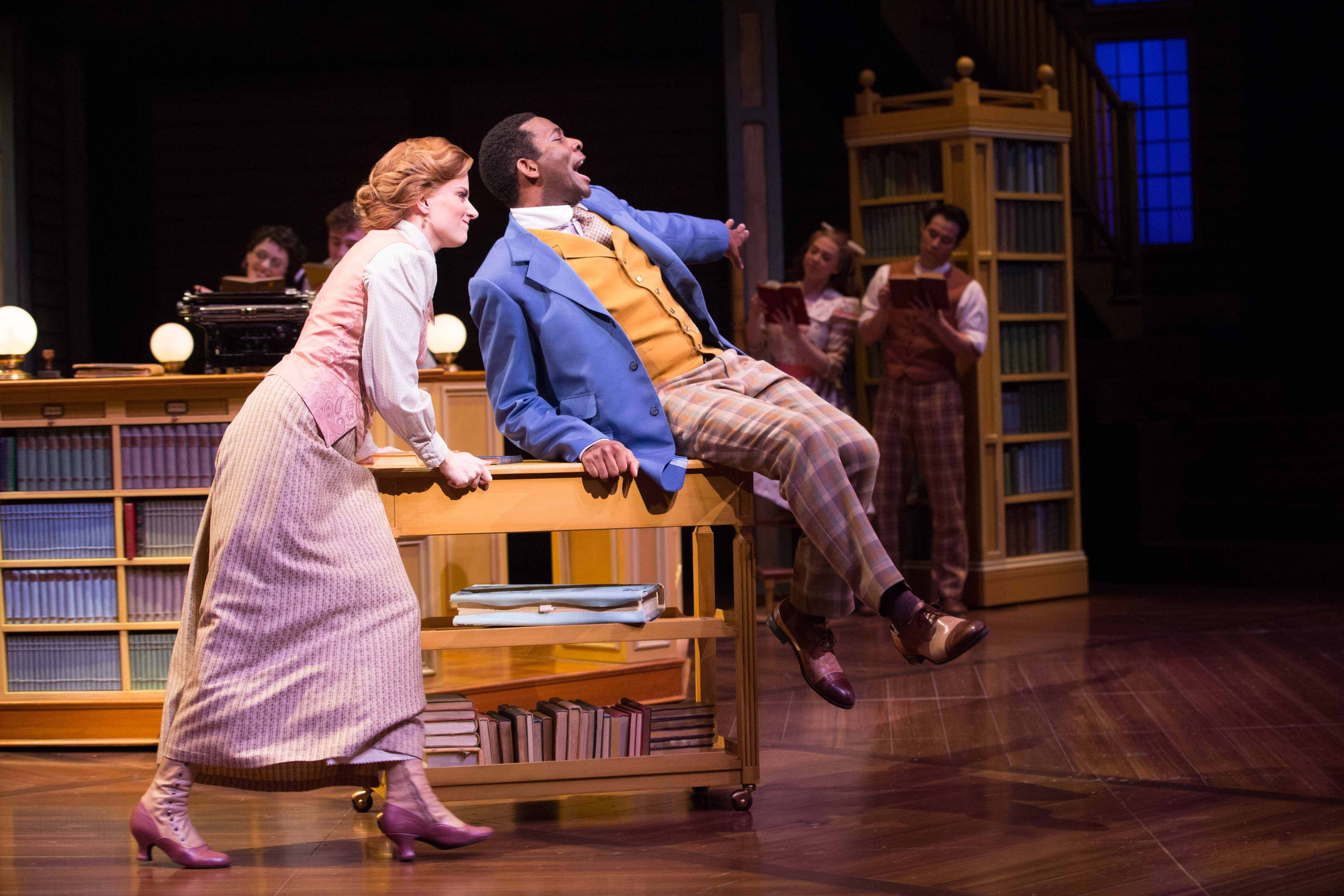 Danielle Wade and Daren A. Herbert. Photo Cylla von Tiedemann. stratford festival, music man