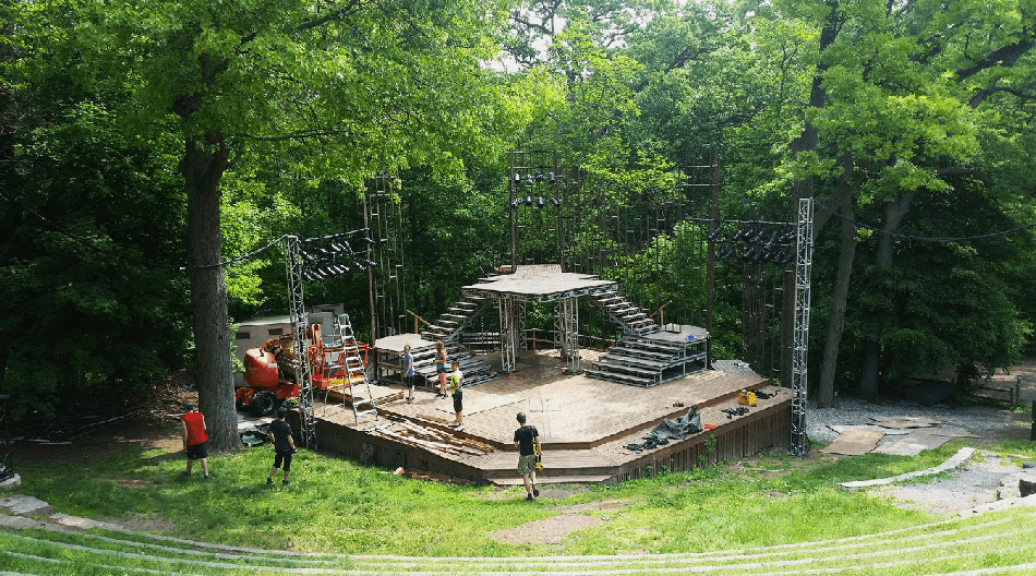 Shakespeare in High Park,2018, canadian stage