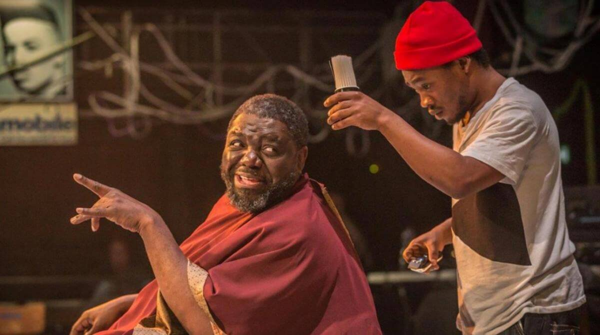 David Webber and Fisayo Akinade, the grand theatre