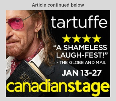 Tartuffe Canadian Stage